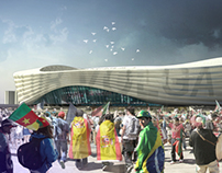 N.Novgorod FIFA WorldCup Stadium concept