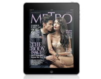 Metro Magazine Philippines iPad App - January 2011