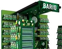 Bario Booth Display