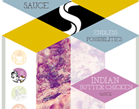 One Sauce - New jar label for several sauces