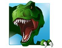 'Dino' Windows Application Icon Design
