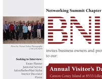 Networking Summit Business Invitations