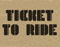 Ticket to Ride Typeface