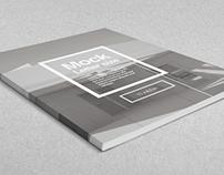 Letter Magazine / Brochure Mock-up