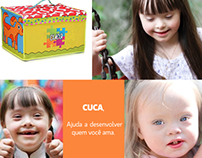 Brinquedo para crianças com Sindrome de Down