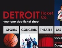 Detroit Ticket Company Business Card