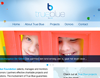 True Blue Foundation Webdesign