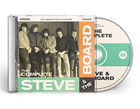 The Complete Steve & The Board CD Artwork