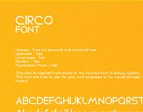 CIRCO Font free