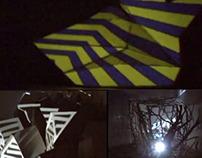 "Videomapping Intervención Serie ""Doblar""  SectorReforma"