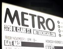 Metro: Where Chicago Goes Live