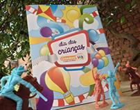 Ilustração capa encartes Grendene Kids