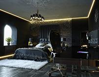DeusEx-styled Interior