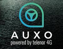 AUXO - Powered by Telenor Print Ad
