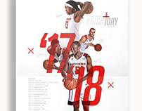 2017-18 Rutgers Men's Basketball Poster