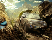 Land Rover Retouching