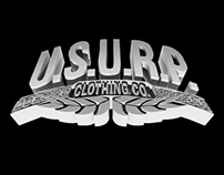 3D Rendering - U.S.U.R.P. Clothing Co.