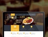 Resturant Webpage