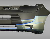 Mitsubishi Outlander III bodykit