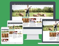Hunter Cattle Company - Responsive Experiment