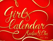 Media8 CBA Girl's Calendar 2012-2013
