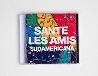 SANTE LES AMIS - Sudamericana LP