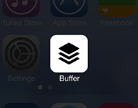 Buffer iOS7 Redesign