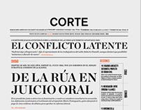 Corte/ Diario
