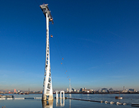 The Emirates Air Line by Wilkinson Eyre Architects