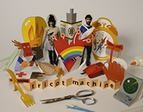 CD cover - Tricot machine