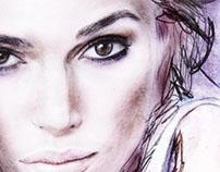 Charcoal/Graphite Portraits