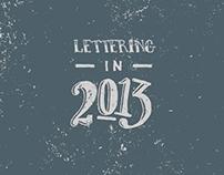 Lettering in 2013