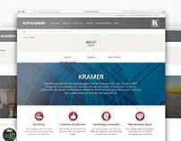 Kramer Electronics | Web Design - About