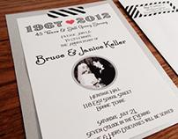 Keller Anniversary Invitations