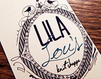 Lila Lou's Knit Shoppe Branding