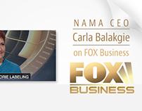 NAMA Web Site Front Page Slideshow Slides