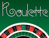Roulette typography
