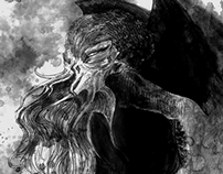 Lovecraft Book Illustrations - Cthulhu