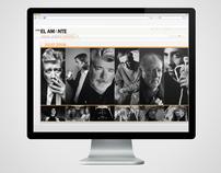 El amante web site