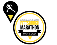 Pittsburgh Marathon Shirt Concept