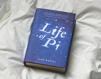 Life of Pi | Book Cover Design