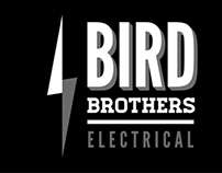 Bird Brothers Electrical Branding & Cards