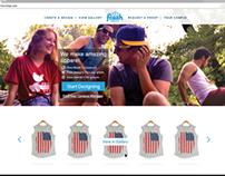 Fresh Prints Website UI
