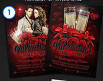 Valentine Flyer Template Bundle