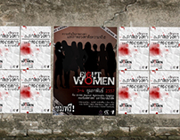 8 Women Stageplay Poster - Handbill