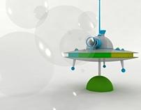 UFO whirligig