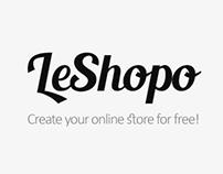 LeShopo. Free Voyage Template.