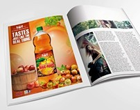 Ad Design For Murree Brewery