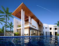 Villa Ronen Bekerman | Exterior Rendering
