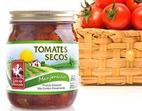 Rótulos Tomates Secos Sítio da Alvorada